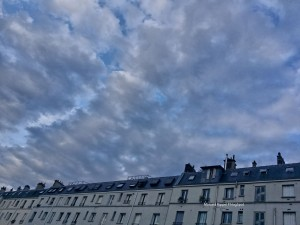 Clouds over Paris Gare du Nord