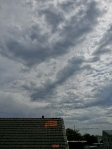 Grey clouds